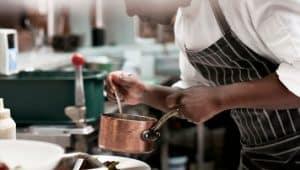 graduação em culinária