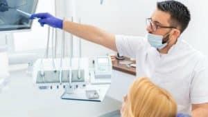 dentista em consultório