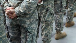 foto representando o exército e carreira militar