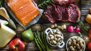 alimentos representando nutrição funcional