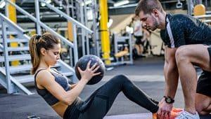 profissionais de educação física